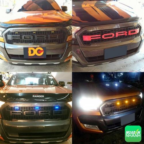 Độ mặt Ca Lăng xe Ford Ranger tùy chọn đèn LED