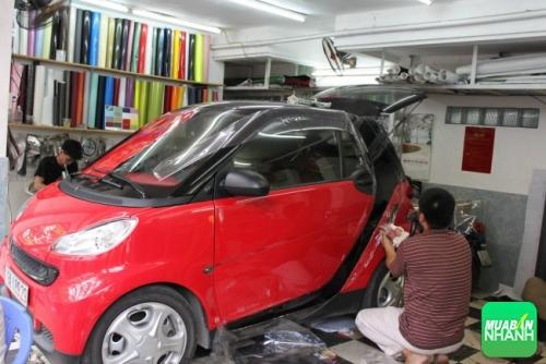 Hướng dẫn sử dụng và dán decal xe ôtô